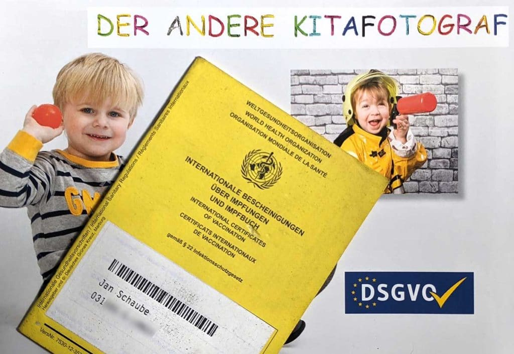 Geimpfter Kindergartenfotograf, sichere Fotos während CoronaCorona Kitafotos Kinderfotos moderne OMpfen IMpfung Coron Covid 19